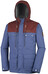 Columbia Colburn Crest Jacket Men Night Tide/Deep Rust